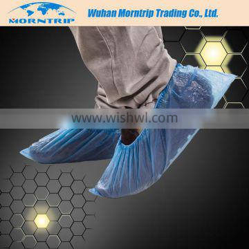 Non Slip Disposable Non Skid Shoe Covers Pp+pe Coated Laminated Shoe Cover