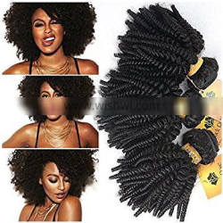 Full Lace 10inch Brazilian Brazilian Tangle Free Brazilian Curly Human Hair Tangle Free