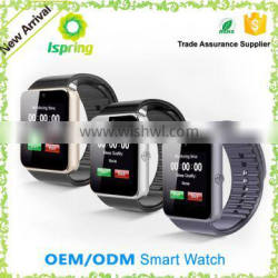 2016 Hot Factory Supply Bands Smart Watch Gt08 Smartwatch With Camera