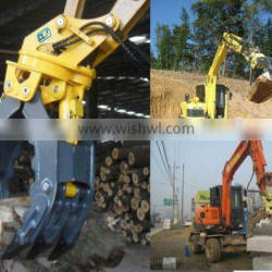 tractor log grapple,log grapple,tractor log grapple,small log grapple forJS130 LC,JS220 LC