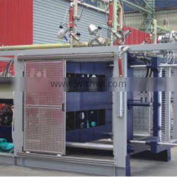 410*410mm Pvc Pipe Injection Molding Machine With Alarm
