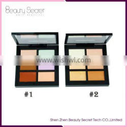 face concealer palette private label 6 colors