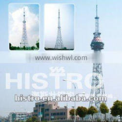 Steel Transmission Tower (angular tower and tubular tower)
