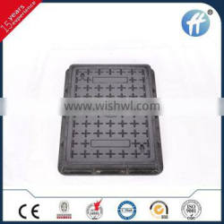 400*600 SMC/DMC plastic water meter manhole cover with excellent non-conducting
