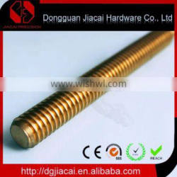 custom precision stainless steel cnc lathe hardware parts with one single thread