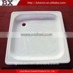 Hot china products wholesale solid surface shower trays,stone bathroom enameled steel shower tray,enameled steel shower tray