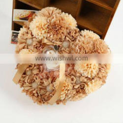 Special design Boutique Sun flower ring pillow,wedding ring box,wedding accessories