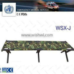 camouflage camp bed