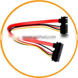 New 15+7 Pin Female to 15+7pin Male Sata Serial ATA Power Cable Adapter 50cm from dailyetech