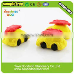 Gifts Car And Soprt Series Shape Rubber Eraser For Promotional