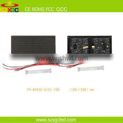 Made in china high quality full color HD p4 smd indoor led module
