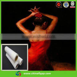 factory supply, 260gsm 100% cotton canvas for wall decoration
