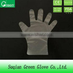 cpe disposable gloves/food serving gloves