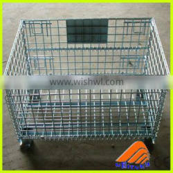cage with wheel,metal cages for sale,metal transport container