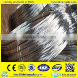 High security galvanized metal wire with lower price / galvanized binding wire