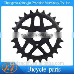 OEM special machined custom bicycle sprockets with individaul packing