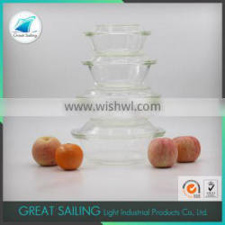 China supplier glass air tight lunch box