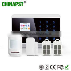 99 Wireless & 2 Wired Zones wireless alarm system touchscreen PST-PG992TQ