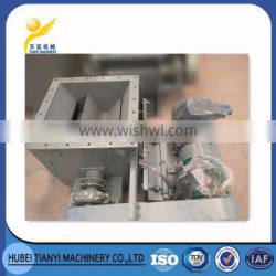 Electric rotary airlock discharge valve for bulk material discharge