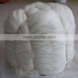 factory supply 100% natural white cashmere tops