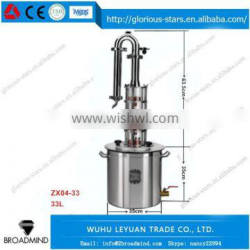 LX2166 Stainless Steel Tanks for Wine , Beer Used industrial alcohol distillation equipment