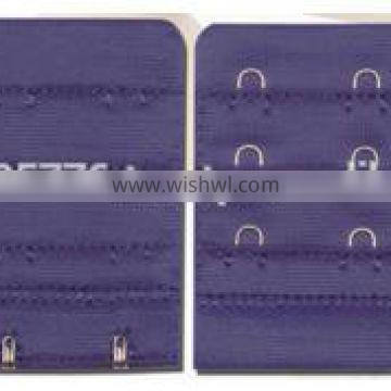 OEM any size, color, materials with competitive price for bra hook and eye
