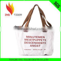 2016 Hot Sales For Promotion Imprint Customized Logo Tote Eco Cotton Cloth Bag