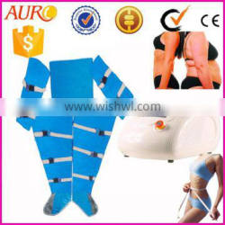 AU-6807 best price for pressotherapy device lymph drainage suit weight loss slimming