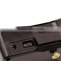 rechargeable Li ion battery 250Wh with gold mount for broadcast camera