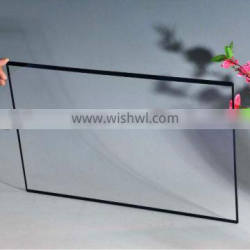 Customize 2mm thickness clear glass for LCD display