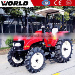 Agricultural Changchai engine 70HP john deere tractor with rotary tiller