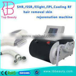 Best performance IPL SHR hair removal machine with cooling rf