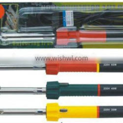 2014 new best sell external heat long life plastic handle electric soldering iron