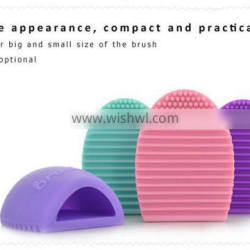 Convenient Silicone Brush Cleansing Egg Facial Clean Tools