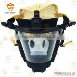 Radio mask communication and talkable mask with anti fog lens for military and civil defence - Ayonsafety