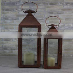 New Design Decorative Professional Antique Metal Candle Holder Lantern