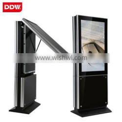 55 Inch Floor Stand Alone Dual Sided Digital Signage With Android OS WIFI 3G USB SD CF