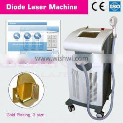 DL65 diode laser beauty instrument for depilation accept customer tailer