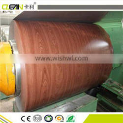 woodgrain precoated steel sheet coil for exterior wall cladding