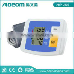 Two user each 90 memory digital blood pressure gauge with competitive price