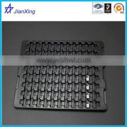 plastic tray for electronic components antistatic blister tray