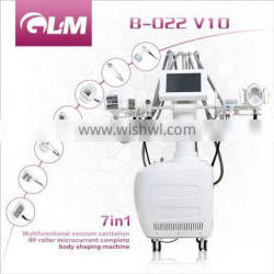 Vacuumm Cavitation system beauty equipment for body slimming and face lifting&wrinkle removal