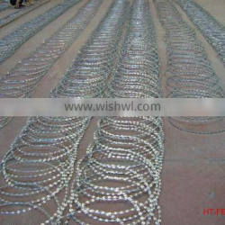 Anping factory hot-dipped galvanized barbed razor wire BTO-22