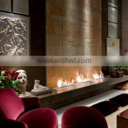 bioethanol fireplace 1000*250*240mm+insert ethanol fireplace+Remote control