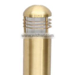 garden decoration light led park brass bollard light bollard light