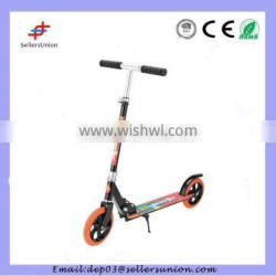 Full aluminum new riding kick scooter with two big rubber wheel