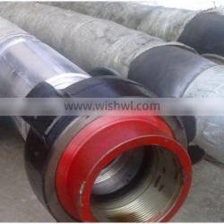 Steel wire spiraled drillng rubber hose