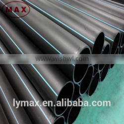 Durable DN110 HDPE Plastic Pipe Supplier with PN16 Pressure