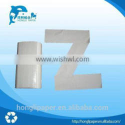 Wholesale alibaba 1 ply z fold paper towel hand