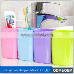 nice design and custom logo plastic cup for toothbrush